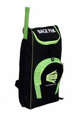 """Cw """"Backpak Cricket Shoulder Kit Bag"""" Black/Floral Green Carry Case Zip Back Fs"""