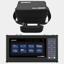 SAT Finder Edision Sat + CAVI + terresischer Misuratore FULL HD TV LCD h.265 HEVC