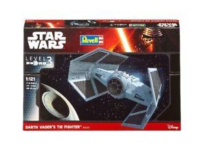 Star Wars Dath Vader Tie Fighter 1:121 Plastique Model Kit Revell