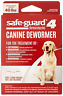 8in1 Safe-Guard 4 Canine De-Wormer for Large Dogs, 3 day treatment