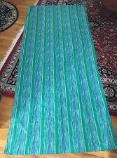 """Multi Color Striped Floral Curtain Drape 44""""w X 96""""L"""