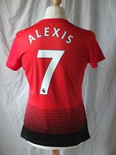 Brand New GENUINE Manchester United 2018/19 Home Shirt ALEXIS 7 Women's UK 16-18