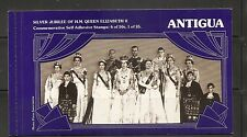 Antigua 1977 Queen Elizabeth Silver Jubilee.   Complete Booklet. MNH