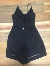 SZ 10 S SEAFOLLY PLAYSUIT  *BUY FIVE OR MORE ITEMS GET FREE POST