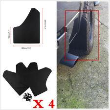 4Pcs Black Car Pickup SUV Front+Rear Splash Guards Fenders Mudflaps Mud Flaps