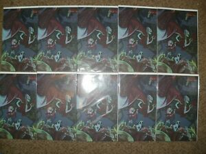 WHOLESALE LOT 10 ADVENTURE TIME 30 VIRGIN COMIC CON VARIANTS - LIMITED 3000 - NM