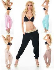 Damen-Haremshosen aus Baumwolle für den Sommer Damenhosen