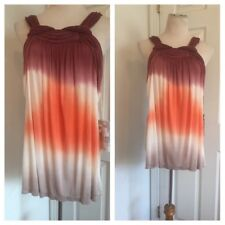 Young Fabulous And Broke Ombre Tie DyeTwist Straps Top Size S  NWT