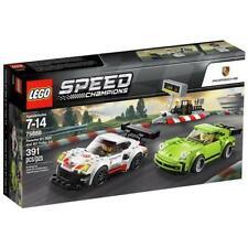 COSTRUZIONI LEGO SPEED CHAMPIONS PORSCHE RSR E 911 TURBO 3.0 MATTONCINI GIOCATTO