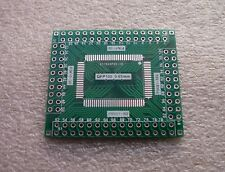 1x SMD Adapterplatine LQFP100 QFP100 (0.65mm) FR4-Industriequalität