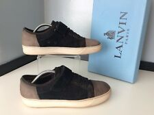 Lanvin Mens Sneakers, Uk 7 Eu41, Suede & Leather, Trainers, GC
