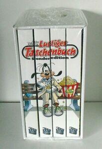 Walt Disney Lustige Taschenbücher Sammlung neu + OVP Film 1 - 4 im Schuber, 2021