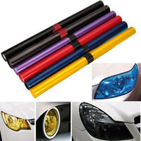 40x120cm Car Vehicle Shade Tail light Headlight PVC Foil Film Cover   /