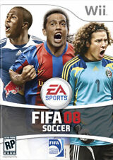 Fifa Soccer 08 Nintendo Wii Original Box and Manual Only NO GAME!