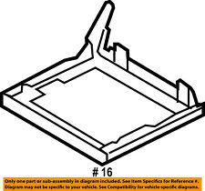 FORD OEM 09-11 Flex Second Row Back Rear Seat-Seat Frame Right 8A8Z7463160D