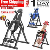 Xmas Sale !! Premium Gravity Inversion Table Back Therapy Fitness Reflexology