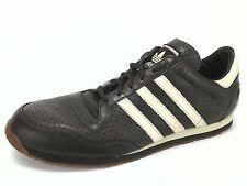 ADIDAS Shoes ORIGINALS Trefoil Brown Leather Shoes Mens US 13 UK 12.5 EU 48 RARE