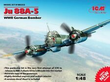 ICM 1/48 Junkers Ju 88A-5, WWII German Bomber # 48232