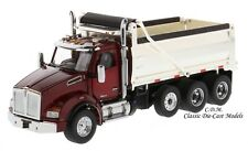 Kenworth T880 SBFA Dump Truck Red & Chrome 1/50 Scale Diecast Masters 71059