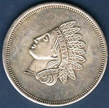 USA.TETE D'INDIEN.ONE TROY OUNCE SILVER 31.10 grammes 999 ‰ 1 once argent