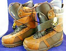 Burton Men's Freestyle Brown / Light Brown Snowboard Boots Size 11.5 - NIB NOS