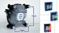 Intel Core i3-7100 i3-7300 i7-7320 Heatsink Cooler Fan for PC Desktop  - New