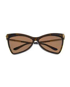 Tom Ford Dark Havana & Brown Cateye Sunglasses FT0767-6152E MSRP $495