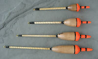 Handmade Perch fishing floats - Balsa Perch Bob - choose 1/2/3 or 4 SSG (BPB)