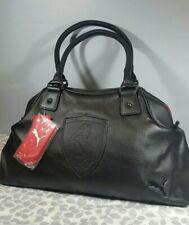 PUMA Scuderia Ferrari Black Hand Bag Purse Fanwear Shoulder Clutch