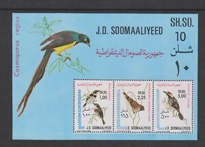 Somalia - 1980, Birds sheet - MNH - SG MS661