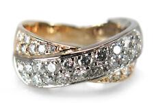 Ring Brillanten insg. ca. 0,60 ct H/p1 585 Weißgold Gelbgold [BRORS 16616]