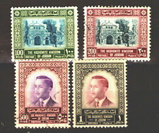 Jordan -   Sc# 334 - 337 M no gum & Used /  Lot 1119310