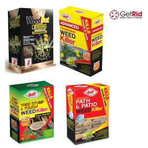 Doff Strong Weedkiller Kills Weeds Roots Tree Stump Advanced Path & Patio Tough