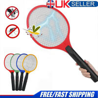 Bug Zapper Racket Electronic Mosquito Fly Swatter Insect Handheld Electric Bat W