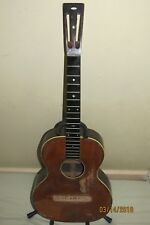WM C Stahl Maker Larson Bros. acoustic guitar, handmade need luthier 100 yrs old