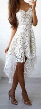 Markenlose M Damenkleider mit V-Ausschnitt