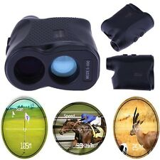 600M 6X Waterproof Golf Telescope Laser Range Finder Distance Height Speed Meter