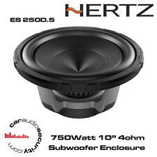 """Hertz Energy ES 250D.5 10"""" 750Watt Flat Subwoofer 4Ohm"""