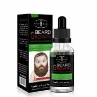 100% Natural Organic Men Beard Growth Oil Beard Wax balm Hair Loss Products Leav