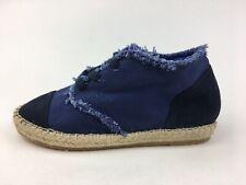 Jeffrey Campbell Mid Top Espadrille Flat Sneakers Women's Size 7, Blue 3132