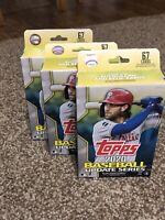 2020 Topps Baseball UPDATE Series Hanger Box Lot (3) + Sealed Unopened NEW