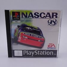 Nascar 98 Sony Playstation 1 PS1 PAL Spiel Game Adrenalin Pur Rennserie