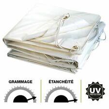 Bâche PVC blanche 2 x 3 m de protection REF 2978
