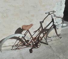 Cadre Vélo ancien, Nervex , années 1930, peuget, terrot, ideale dunlop (?). A505