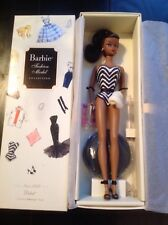 2008 New Debut👙Silkstone Afro-American Barbie Gold Label Catalog Number: N5007