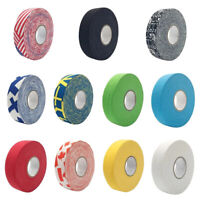 Hockey Stick Tape 2.5mm x 25m Colorful Sport Safety Cotton Cloth Ice Field Tape,