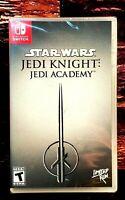 Star Wars Jedi Knight: Jedi Academy - Nintendo Switch - Region Free - New Sealed