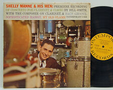 Shelly Manne & His Men    Concerto for Clarinet       Contemporary       G+ # 22