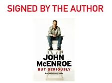 John McEnroe - But Seriously *Signed By John Mcenroe* with cert. of authenticity