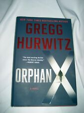 "New Hardback ""Orphan X"" by Greg Hurwitz, 2016, 1st in series, 354p w/warranty"